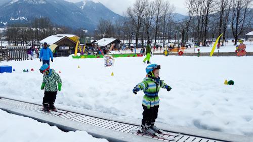 Kinder Ski Paradies In Lenggries Mit Förderband Ich Spring Im Dreieck