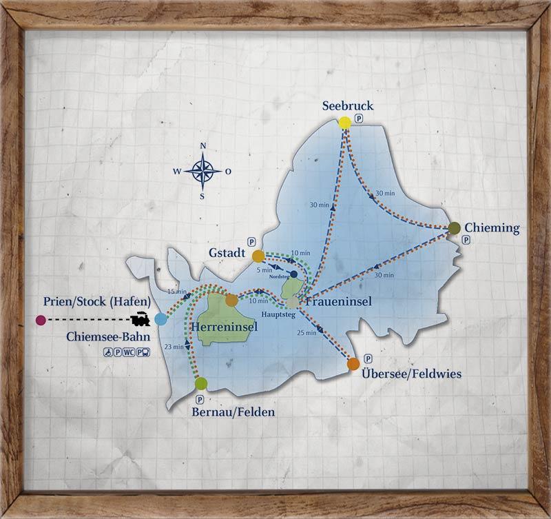 Die Herreninsel Im Chiemsee Ein Paradies Für Familien