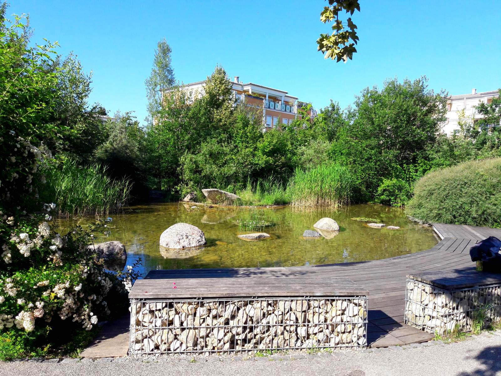 Wasserspielplatz Plansche See In Vaterstetten Ich Spring Im Dreieck