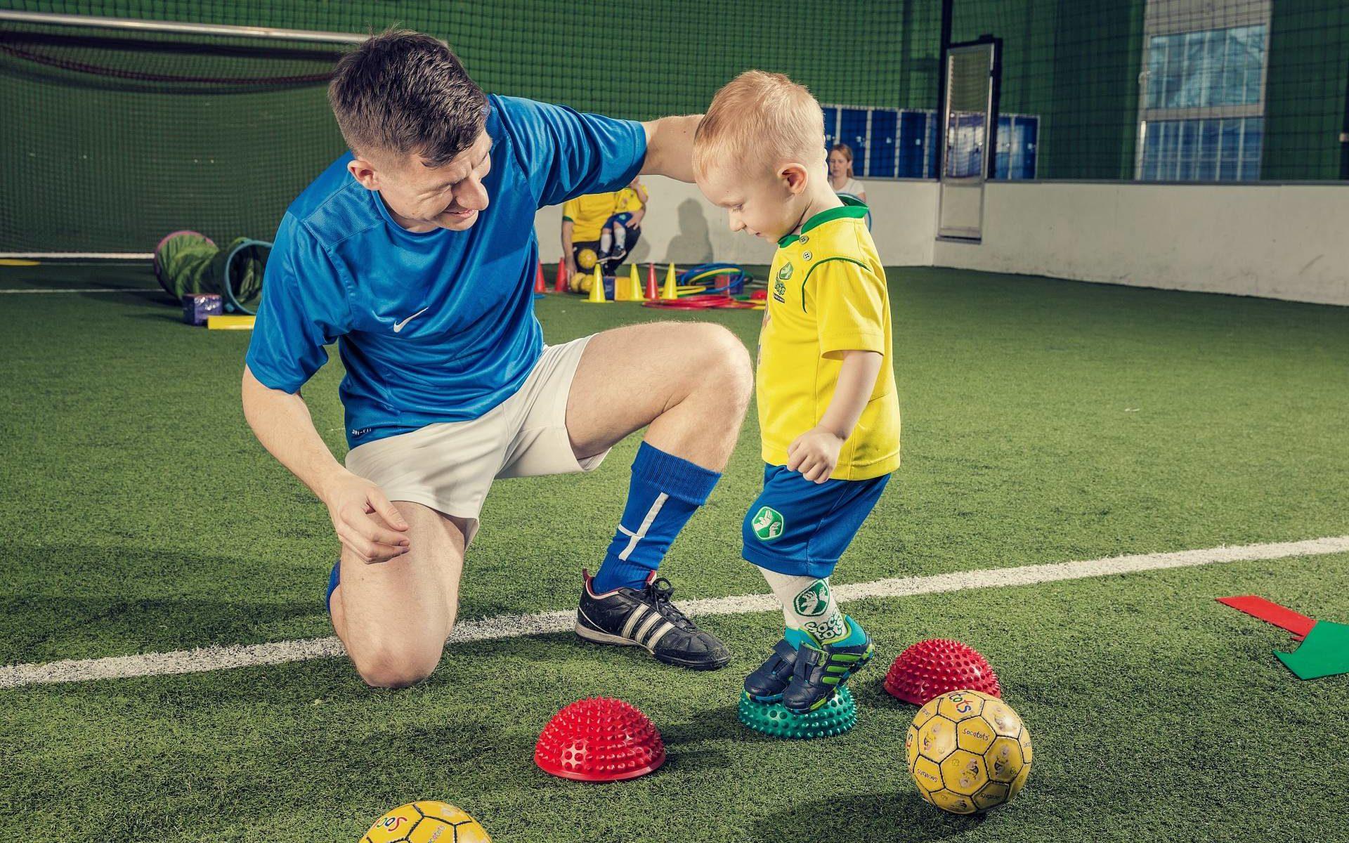 Fußball für Kleinkinder