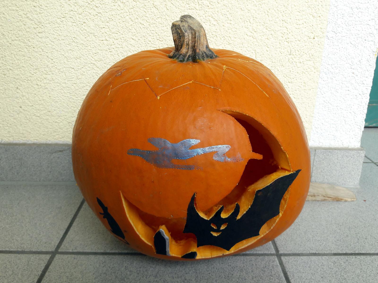 Halloween Kürbisse Gestalten Mit Kindern Schnitzen Bemalen Bekleben