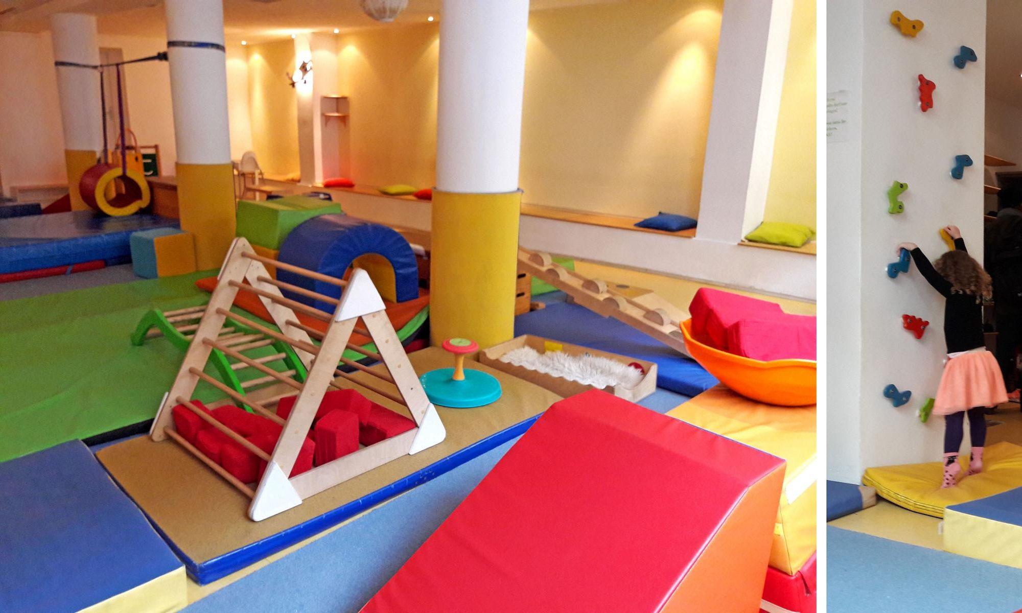 Kleinkind Klettert Dreieck : Das turncafe in münchen: kletter und spielparadies für babys
